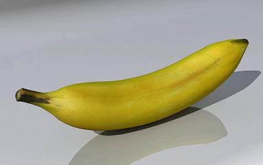 Banana 3D Model 3D Model