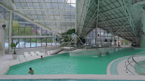 Indoor Pool Centre Footage
