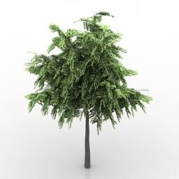Tree Green 3D Modell
