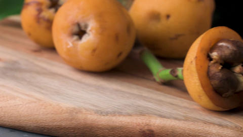 loquats on kitchen counter Footage
