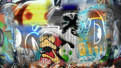 Too many Graffities Filmmaterial