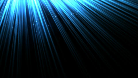 Animated Light Rays - Blue Animation