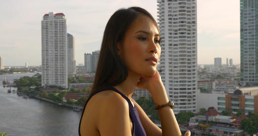 Pretty Thai Woman Footage
