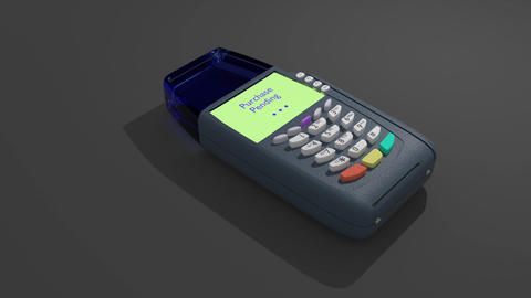 Credit Card Transaction Filmmaterial