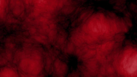 Dark red glowing ane expasion clouds - seamless loop CG動画素材