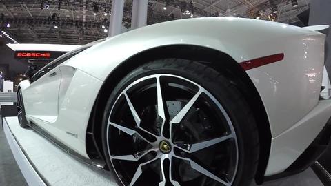 Lamborghini Aventador S Footage