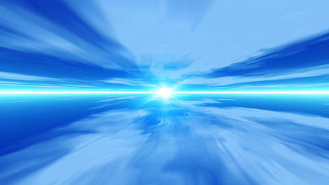 Blue sky speed CG動画