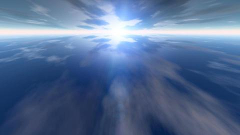 Earth sky CG動画