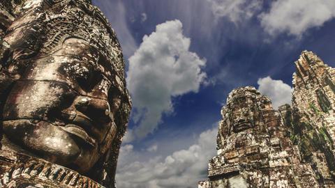 Angkor Wat, Siem Reap, Cambodia Filmmaterial