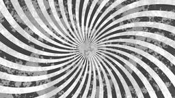 Abstract grey grunge hypnotic swirl background Animation