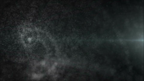 Dark and mysterious particles background Animation