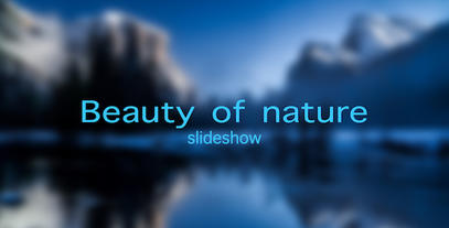 Beauty of nature slideshow After Effects Template