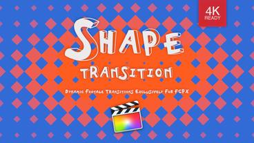 Shape Transition Apple Motion Project