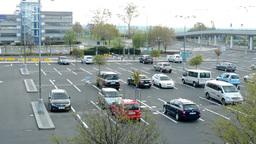 Václav Havel Airport Prague - car park (parking) Footage