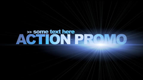 Action Promo After Effects Template