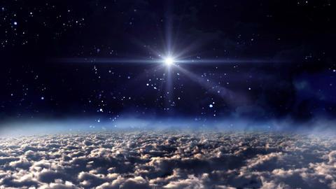 space night star glow Animation