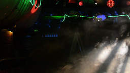 Disco(party) - stage lights Footage