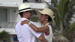 Dancing Couple Dating Or Marriage Stock Video Footage