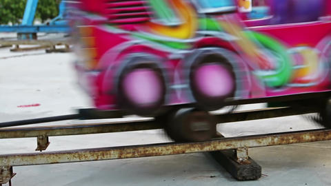 Small Tram Kids Footage