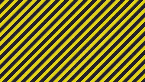 Aging surface - warning diagonal lines