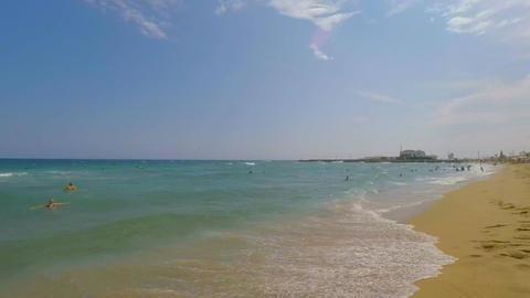 Half Empty Beach In Best Condition