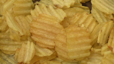 Potato chips ready to eat Filmmaterial