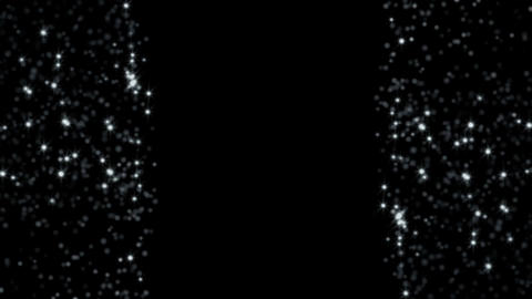 White glitter background. Seamless loop Animation