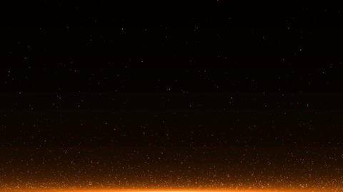 abstract background with Rising embers. Seamless loop Animation