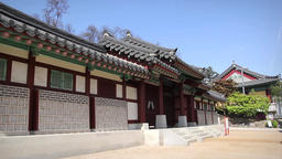 Korea traditional house Image