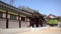 Korea traditional house Image