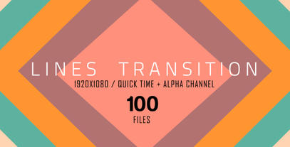 The Lines Transition (100 Pack) After Effects Templates