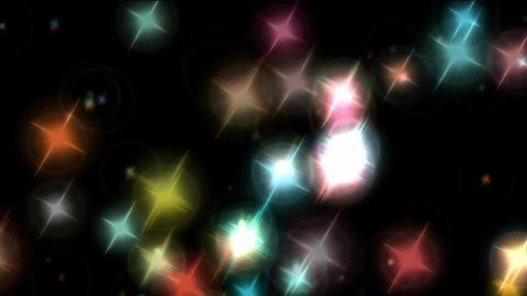 Stellar light show Animación
