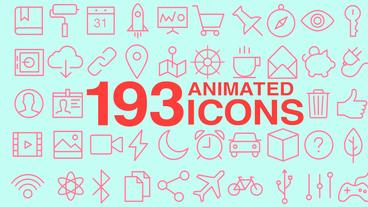 Icons for Final Cut Pro X Apple Motion Project