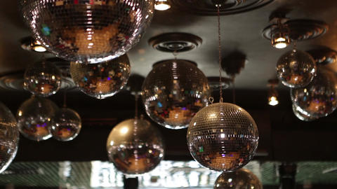 disco ball Filmmaterial