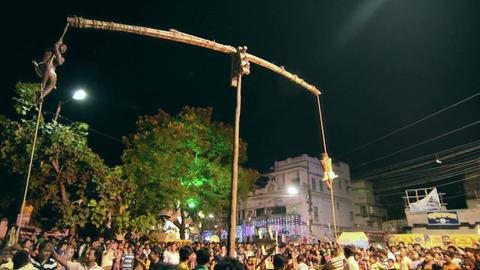 Charhak mela festival Bengal India 2 ビデオ