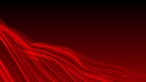 Red Waves Background CG動画素材