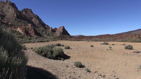 Teide landscape, Canary islands Footage