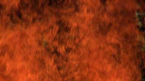 Wall of fire Footage