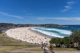 Bondi Beach from South End Copyspace Photo