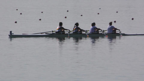 Rowing Championship Quad Scull Woman Live Action