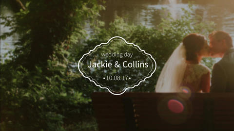 Wedding Titles After Effects Template