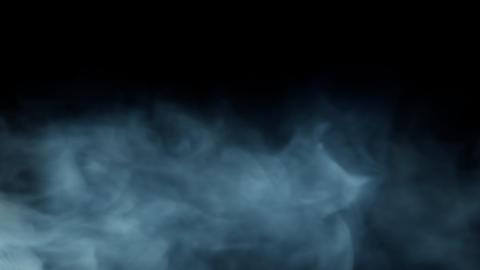 Smoke Background Loop with alpha - Blue Green Smoke Animation
