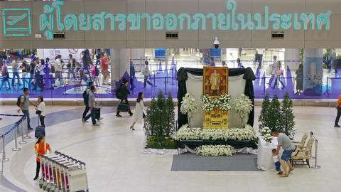 Don Mueang International Airport Bangkok 4K Footage