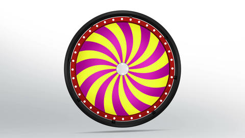 Black fortune wheel of candy style 4K Image