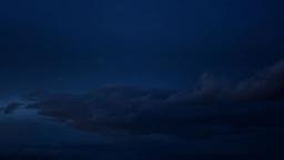 night dark clouds Footage
