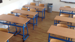 school class - empty Footage
