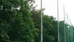 safety net on the football ground Footage