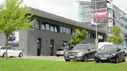 eadquarter of Mercedes Benz Footage