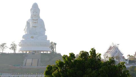 Wat Huay Plakang 9 Tier Temple Chiang Rai Thailand 4k Footage