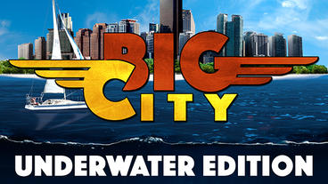 Big city underwater Plantilla de Apple Motion